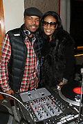 16 October 2010-New York, NY-  l to r: DJ D-Nice and Beverly Bond at The Black Girls Rock! Shot Caller's Reception Presented by Beverly Bond and BET held at Fred's at Barneys New York on October 15, 2010 in New York City. ..BLACK GIRLS ROCK! Inc. is 501(c)3 non-profit youth empowerment and mentoring organization established to promote the arts for young women of color, as well as to encourage dialogue and analysis of the ways women of color are portrayed in the media. Photo Credit:.Terrence Jennings..