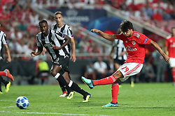 August 21, 2018 - Lisbon, Portugal - Benfica's Portuguese forward Joao Felix in action during the UEFA Champions League play-off first leg match SL Benfica vs PAOK FC at the Luz Stadium in Lisbon, Portugal on August 21, 2018. (Credit Image: © Pedro Fiuza via ZUMA Wire)