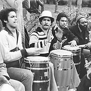 Conga Players, Central Park, NY 1978