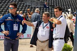 Alvarez Moya Sergio, ESP, Alvarez Julio, ESP<br /> European Championship Jumping<br /> Rotterdam 2019<br /> © Hippo Foto - Dirk Caremans<br /> Alvarez Moya Sergio, ESP, Alvarez Julio, ESP