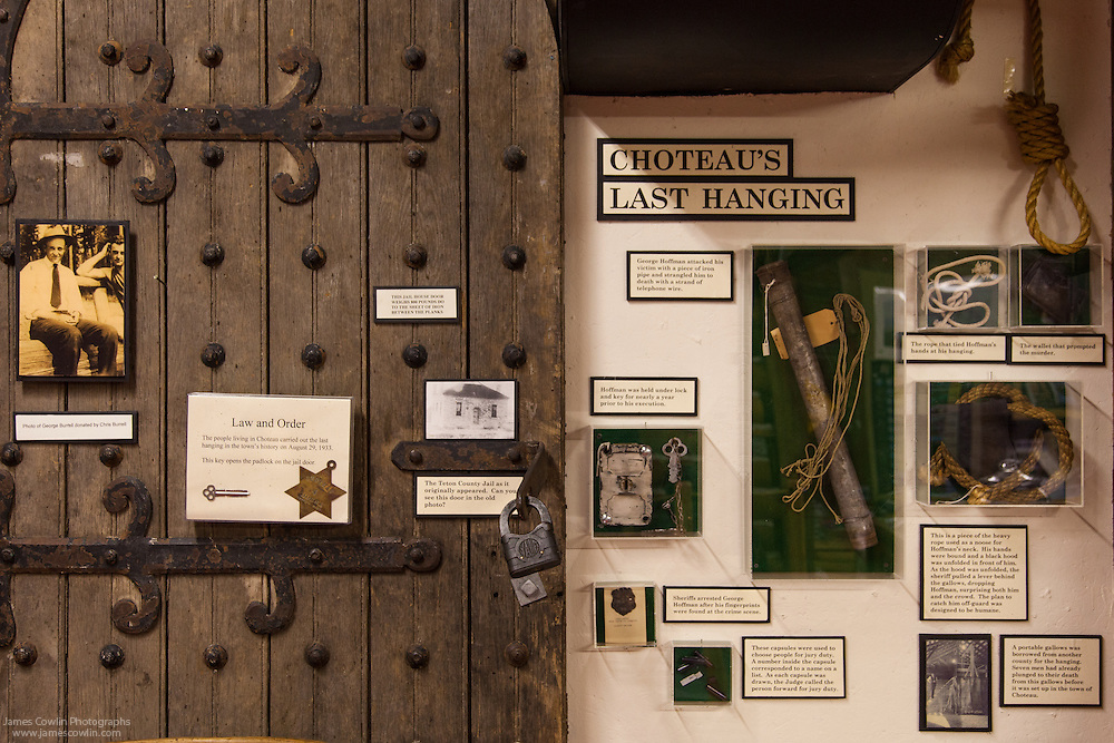 Old Trail Museum, Choteau's Last Hanging