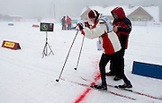 VIII Polish Winter Games Special Olympics at Wisla on February 24, 2012...Poland, Wisla, February 24, 2012..Picture also available in RAW (NEF) or TIFF format on special request...For editorial use only. Any commercial or promotional use requires permission...Photo by © Adam Nurkiewicz / Mediasport
