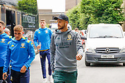 Leeds United midfielder Mateusz Klich  arrives during the Pre-Season Friendly match between Tadcaster Albion and Leeds United at i2i Stadium, Tadcaster, United Kingdom on 17 July 2019.