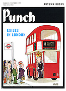 (Punch cover, 10 January 1969. Illustrating 'Exiles in London')