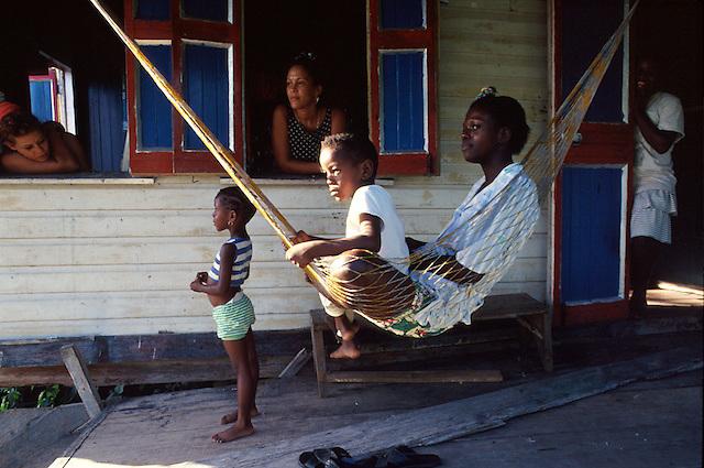 Children of the Choco-Uraba Region, Colombia
