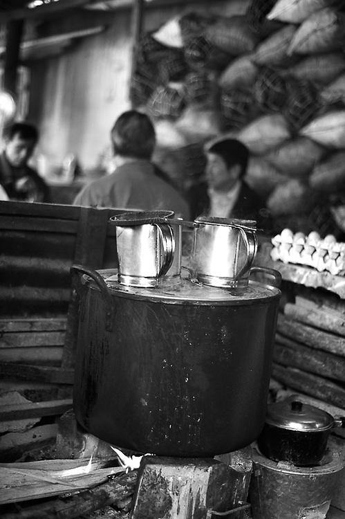 Ein Kaffee in Laos