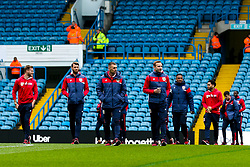 Bristol City arrive at Elland Road for the Sky Bet Championship fixture against Leeds United - Mandatory by-line: Robbie Stephenson/JMP - 24/11/2018 - FOOTBALL - Elland Road - Leeds, England - Leeds United v Bristol City - Sky Bet Championship