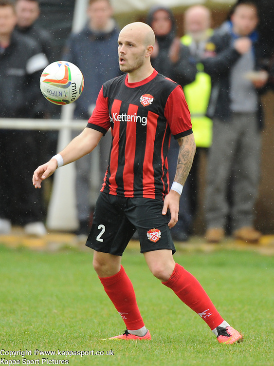 James Clifton, Kettering Town, Kettering Town v Daventry Town Southern League Division One Central, 25th August 2014