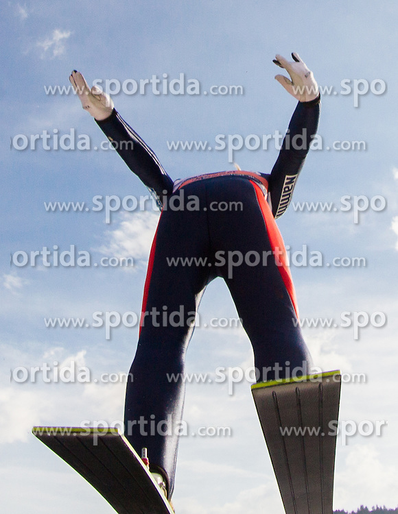 LUNDBY Maren of Norway during Ladies Large Hill Individual Competition at 3rd day of FIS Ski Jumping World Cup Finals Planica 2014, on March 22, 2014 in Planica, Slovenia. Photo by Vid Ponikvar / Sportida