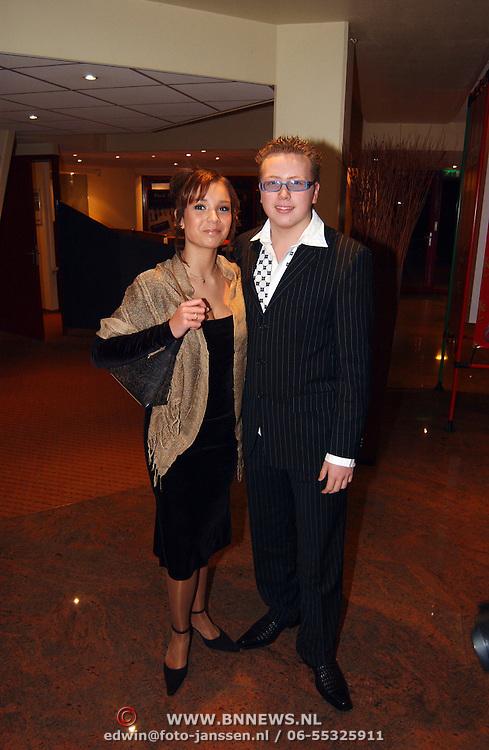 Harpengala 2003, Jamai en vriendin