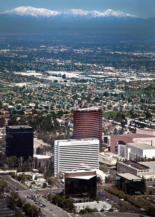 Aerial of Costa Mesa