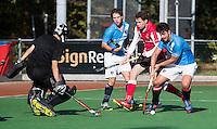 LISSE - Eerste ronde Bekerhockey om de KNHB Silvercup. HISALIS-MHC HOORN (0-5). Freek Mozer van Hoorn COPYRIGHT KOEN SUYK