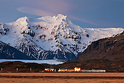 Hrútfjallstindar in Skaftafell National Park, south Iceland