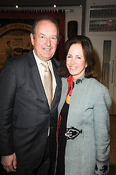 The HON.SIR MICHAEL PAKENHAM and his wife MIMI at the opening reception of the new Jewish Museum, Raymond Burton House, 129-131 Albert Street, London NW1 on 16th March 2010.