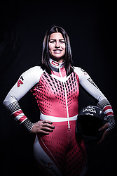 12.10.2019, Olympiahalle, Innsbruck, AUT, FIS Weltcup Ski Alpin, im Bild Nadine Fest // during Outfitting of the Ski Austria Winter Collection and the official Austrian Ski Federation 2019/ 2020 Portrait Session at the Olympiahalle in Innsbruck, Austria on 2019/10/12. EXPA Pictures © 2020, PhotoCredit: EXPA/ JFK