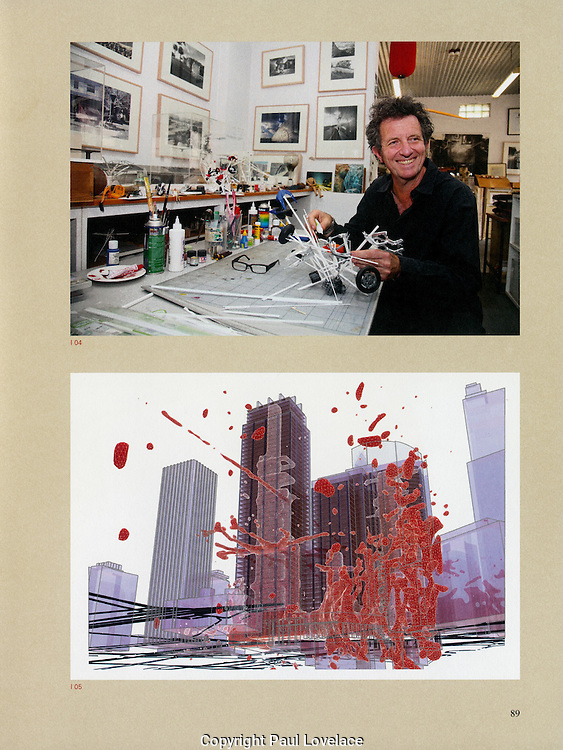 Portraits of artist & architect Richard Goodwin, Sydney.