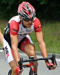 03.07.2011, AUT, 63. OESTERREICH RUNDFAHRT, 1. ETAPPE, DORNBIRN-GOETZIS, im Bild Martin Schoeffmann, (AUT, WSA Viperbike Kaernten) in der Gruppe des Tages // during the 63rd Tour of Austria, Stage 1, 2011/07/03, EXPA Pictures © 2011, PhotoCredit: EXPA/ S. Zangrando