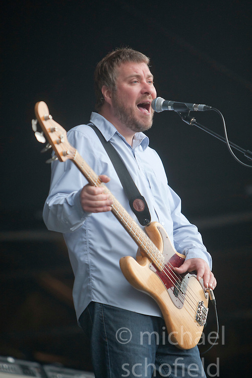 Jimi Goodwin of Doves, play on the main stage..Rockness, Sunday 13th June..Pic ©2010 Michael Schofield. All Rights Reserved.
