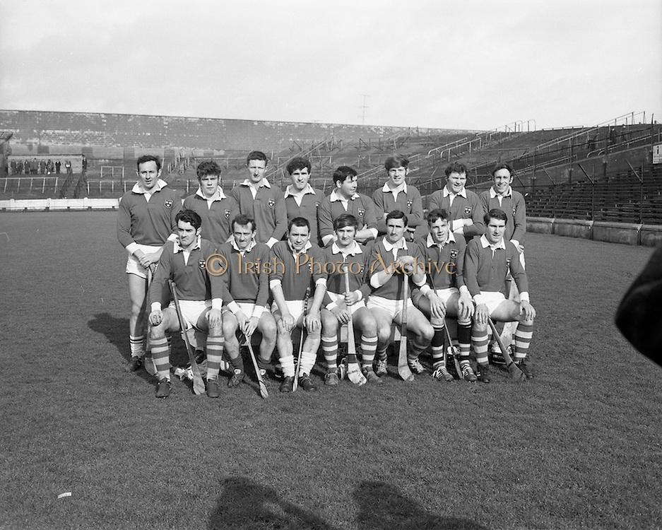 22/02/1970<br /> 02/22/1970<br /> 22 February 1970<br /> Railway Cup Hurling Final: Ulster v Munster at Croke Park, Dublin. <br /> The Munster team.