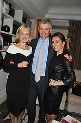 Left to right, MARIELLA FROSTRUP, MICHAEL WAINWRIGHT and KAREN RUIMY at The Great Initiative event in association with jewellers Boodles held at The Corinthia Hotel, London on 6th November 2012.