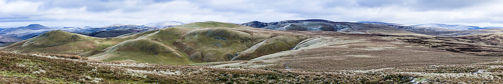 Blackhall Hill (479m), Hindhope, Cheviot Hills. 2nd March 2016.