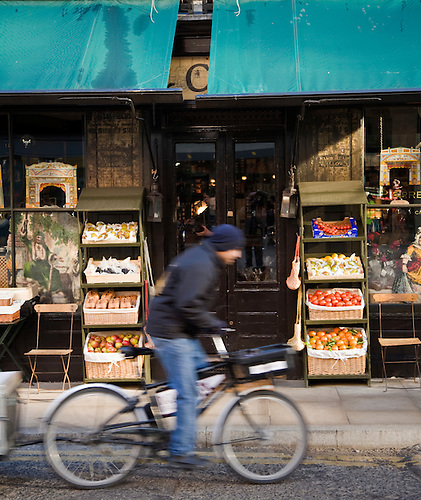 street life bicycle groceries vegetables cycling deliveries blurred one person canopy. & street life bicycle groceries vegetables cycling deliveries ...