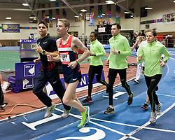 New Balance Indoor Grand Prix track meet: Oregon Project athletes Centrowitz, Rupp, Moser, Ulrey, Erdman post-meet workout