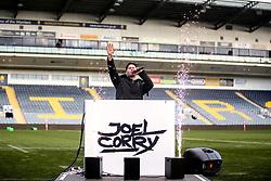 Joel Corry performs a DJ set ahead of Worcester Warriors Women v Bristol Bears Women - Mandatory by-line: Robbie Stephenson/JMP - 01/12/2019 - RUGBY - Sixways Stadium - Worcester, England - Worcester Warriors Women v Bristol Bears Women - Tyrrells Premier 15s