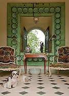 Foyer, South Kent, CT, Couturier