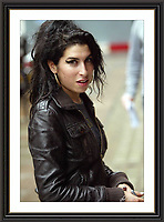 Amy WineHhouse London OCT 2006<br /> Large Museum-quality Archival signed Framed Print £750