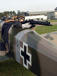 German Junker CL1, Rear Gunner 1917, The Great War, 1914-18 Aircraft, , The Duxford Air Show, 14th September 2014