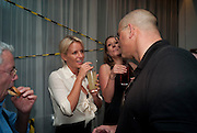 DAVINIA TAYLOR; EDWARD AYDIN, AFTER-PARTY FOR GHOST. St. Martin's Lane hotel London. 14 July 2010. -DO NOT ARCHIVE-© Copyright Photograph by Dafydd Jones. 248 Clapham Rd. London SW9 0PZ. Tel 0207 820 0771. www.dafjones.com.