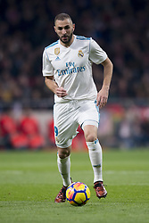November 18, 2017 - Madrid, Madrid, Spain - Benzema during the match between Atletico de Madrid and Real Madrid, week 12 of La Liga at Wanda Metropolitano stadium, Madrid, SPAIN - 18th November of 2017. (Credit Image: © Jose Breton/NurPhoto via ZUMA Press)