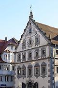 Altstadt von Ravensburg, Lederhaus und Seelhaus, Baden-Württemberg, Deutschland