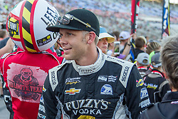 June 9, 2018 - Fort Worth, Texas, U.S - Ed Carpenter Racing driver Jordan King (20) of Great Britain in action during the DXC Technology 600 race at Texas Motor Speedway in Fort Worth,Texas. (Credit Image: © Dan Wozniak via ZUMA Wire)