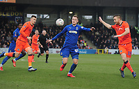 Football - 2018 / 2019 Emirates FA Cup - Fifth Round: AFC Wimbledon vs. Millwall<br /> <br /> Joe Piggot of Wimbledon, at the Cherry Red Records Stadium (Kingsmeadow).<br /> <br /> COLORSPORT/ANDREW COWIE