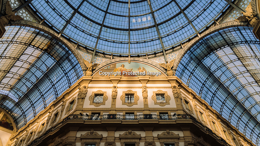 The Galleria Vittorio Emanuele II is one of the world's oldest shopping malls. Housed within a four-story double arcade in central Milan, the Galleria is named after Victor Emmanuel II, the first king of the Kingdom of Italy