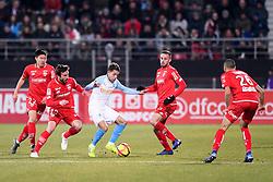 February 8, 2019 - Dijon, France - 22 CHANGHOON KWON (DIJ) - 27 MAXIME LOPEZ (OM) - 14 JORDAN MARIE  (Credit Image: © Panoramic via ZUMA Press)