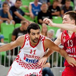 20120803: SLO, Basketball - Adecco Cup, Croatia vs Serbia