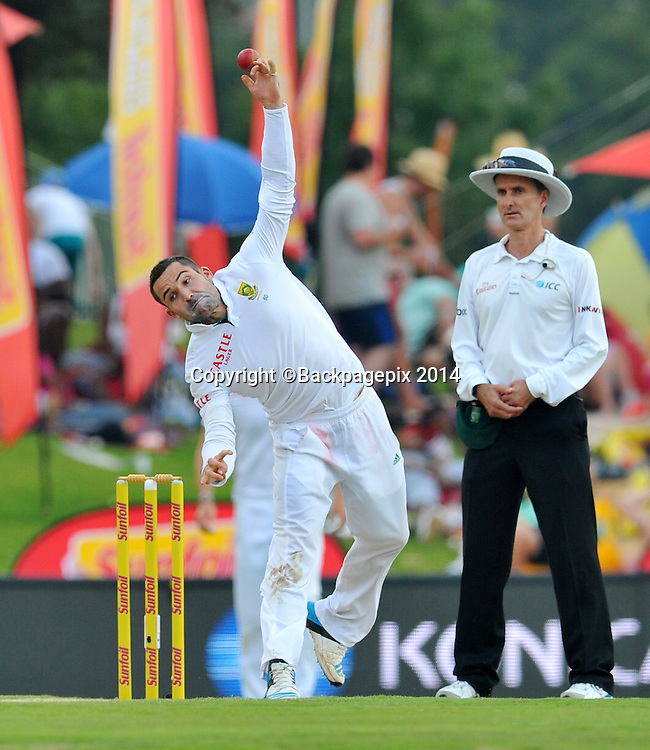Dean Elgar of South Africa during the 2014 Sunfoil 1st Test match between South Africa and West Indies at the Supersport Park in Pretoria, South Africa on December 19, 2014 ©Samuel Shivambu/BackpagePix