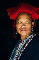 A portrait of Co Chan, a Red Dao village head and forager in northern Vietnam.