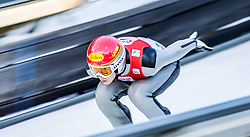 19.12.2014, Nordische Arena, Ramsau, AUT, FIS Nordische Kombination Weltcup, Skisprung, Training, im Bild Mario Seidl (AUT) // during Ski Jumping of FIS Nordic Combined World Cup, at the Nordic Arena in Ramsau, Austria on 2014/12/19. EXPA Pictures © 2014, EXPA/ JFK