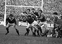Ireland V Scotland in Lansdowne Road, Dublin, 03/03/1984 (Part of the Independent Newspapers Ireland/NLI Collection).