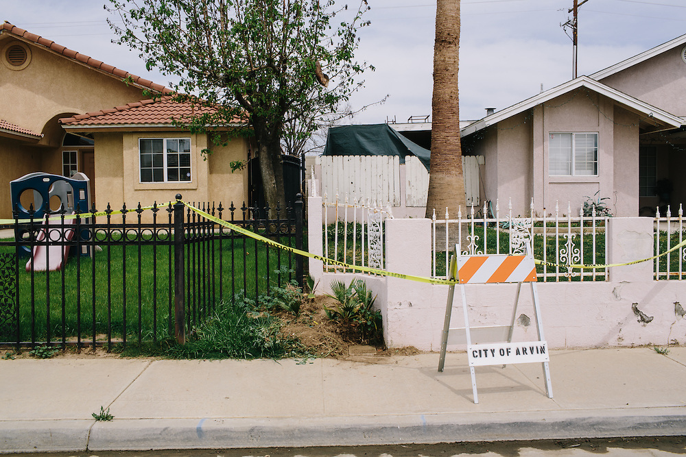 Eight homes in Arvin, California were evacuated after a gas pipe leaked underground. According to reports, the 40-year-old pipe was leaking for a long as two years before it was detected.