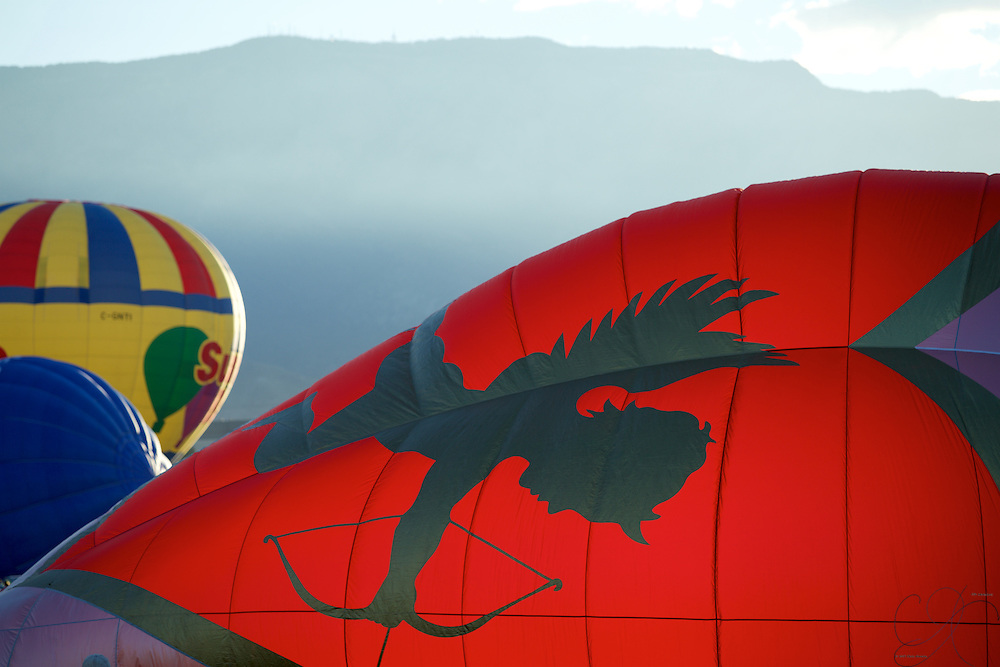 As if struck by Cupid's arrow - the love of Hot Air ballooning will overtake you once you witness it in person!