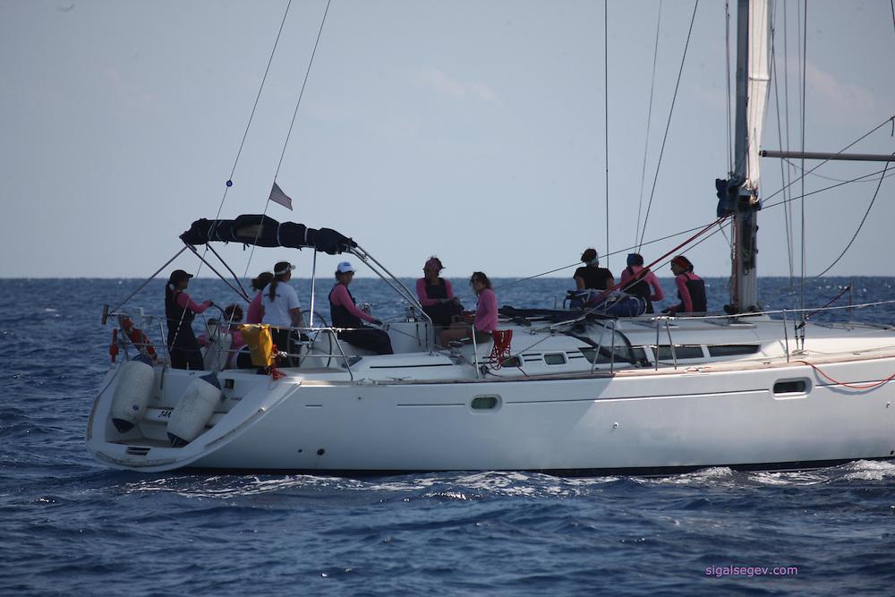 צילום שייט תחרות קפריסין