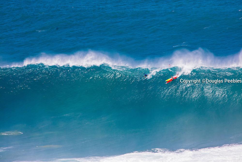 Quicksilver Eddie Aukau Big Wave Surf Contest, Waimea Bay, North Shore, Oahu, Hawaii
