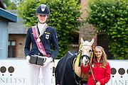 Inga Katharina Schuster - NK Cyrill<br /> FEI European Championships Ponies 2016<br /> © DigiShots