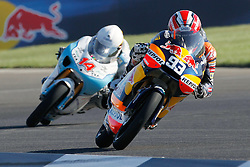 28.08.2010, Motor Speedway, Indianapolis, USA, MotoGP, Red Bull Indianapolis Grand Prix, im Bild Marc Marquez - Red bull Derbi, EXPA Pictures © 2010, PhotoCredit: EXPA/ InsideFoto/ Semedia *** ATTENTION *** FOR AUSTRIA AND SLOVENIA USE ONLY!