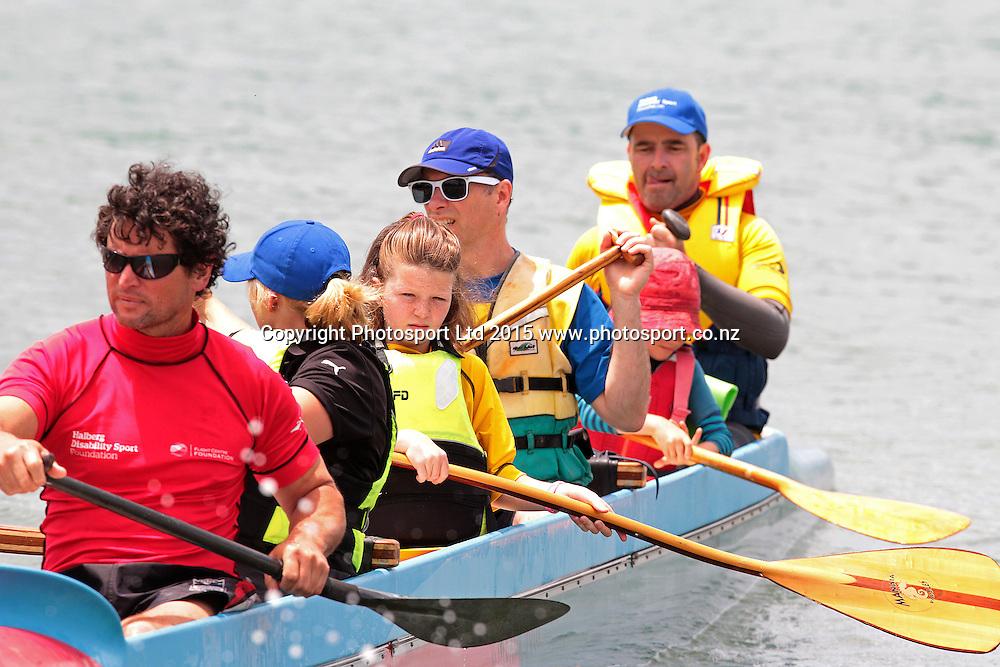 28/11/2015 Hibiscus Coast Flight Centre Foundation Halberg Watersports Day held at Red Beach, Orewa. David Mackay / www.photosport.nz